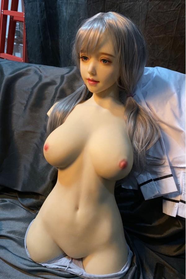 Roswitha-Halber Körper ohne Hände Torso Sexpuppe