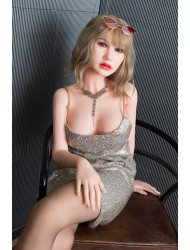 Tara-160cm Silikon Sexpuppe Realistische Sex Mädchen