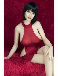 Hilda-Knallrotes Kleid Sexpuppe
