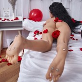 Was ist der stehende Fuß einer Sexpuppe?