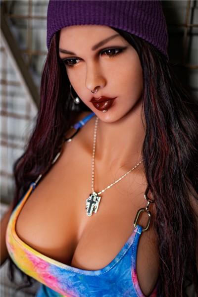 Reba-162cm fette Sexpuppe mit großer Brust