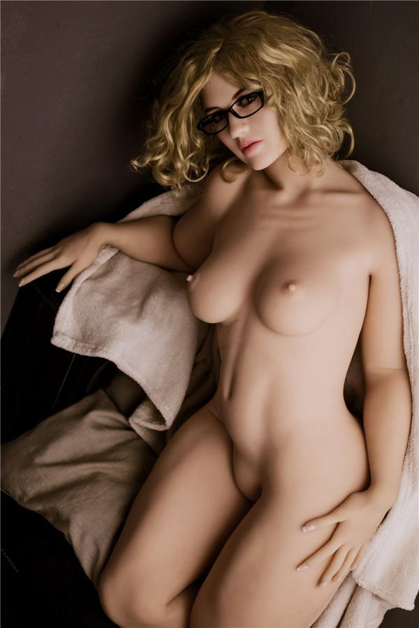 Sex Puppen Vanessa mit Brille